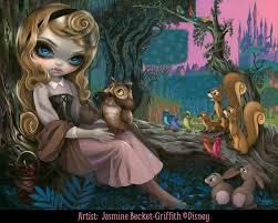 princess aurora jasmine becket griffith disney sleeping beauty