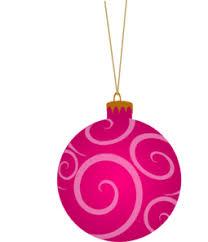 pink ornament clip at clker vector clip