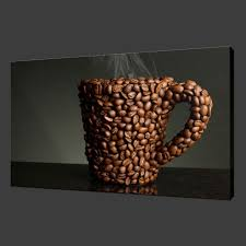 coffee beans modern kitchen design picture box canvas print 12