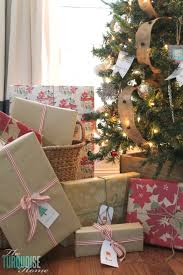 rustic christmas wrapping paper how to use inexpensive household items as christmas decor the