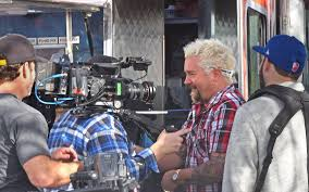 Diner Drive Ins And Dives Map Food Network Star Guy Fieri Films At Three Modesto Establishments