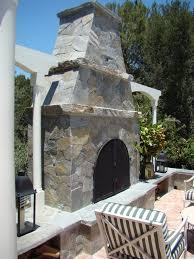 stonescapes custom masonry santa barbara county outdoor fireplaces