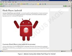 flash player android malware masquerades as flash player for android trendlabs