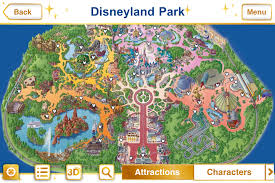 printable map disneyland paris park new official disney parks iphone app features augmented reality and