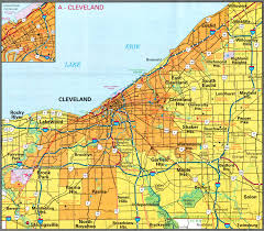 Greater Orlando Area Map by Map Of Usa Where Is Cleveland Ohio Where Is Cleveland Oh Located