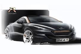 sport car peugeot 2014 peugeot rcz r production car to debut at goodwood