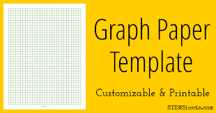 half inch graph paper graph paper template stem sheets