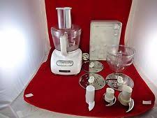Used Kitchen Aid Mixer by Kitchenaid Mixer Food Processors With Accessory Storage Ebay