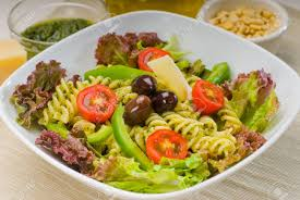Homemade Pasta Salad by Healthy Homemade Italian Fusilli Pasta Salad With Parmesan Cheese