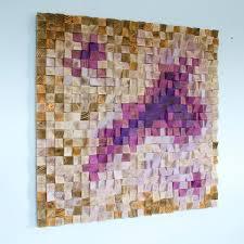 wood wall office wall decor wood sculpture geometric