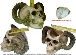 amazon com satanic demon devil skull realistic menacing voodoo