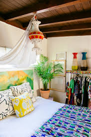bedding and home decor boho bedroom decor how to mix patterns photos architectural digest