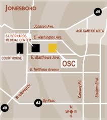 map of jonesboro ar outpatient surgery center of jonesboro map directions