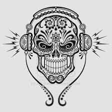 sugar skull tattoo ideas pinterest sugar skulls sugaring