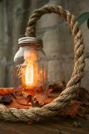 mason jar lighting rustic wedding decor glass lighting shabby chic