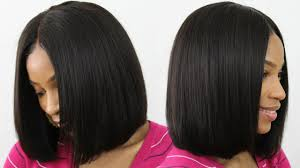 blunt cut bob hairstyle photos how to make cut style a blunt cut bob wig middle part bob