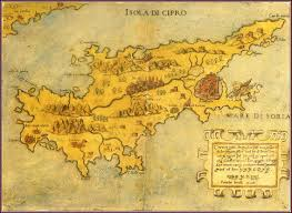 Medieval Maps All Ancient And Antique Maps Of Cyprus 1500 1914