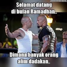 Ramadhan Meme - selamat datang di bulan ramadhan memelucu memekocak gambarlucu