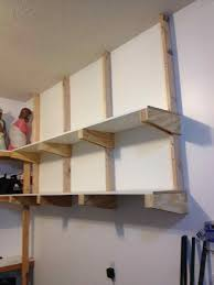 Basement Wooden Shelves Plans by Wooden Srage Shelf In The Basement Youtube Plans Ys Even Clothes
