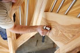garde corps bois escalier interieur comment poser un garde corps comme un professionnel