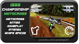 youtube motocross racing videos motocross antigo gameplay intensa whips épico 1999