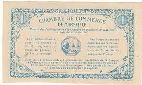 chambre de commerce de marseille 1 franc chambre de commerce de marseille specimen p neuf pirot 36 p