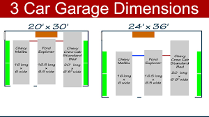Two Car Garage Plans by Ideal 3 Car Garage Dimensions Man Cave Pinterest Car Garage