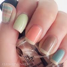 light brown nail polish fledgling nails nail art fingerfood s theme buffet 25 seasons