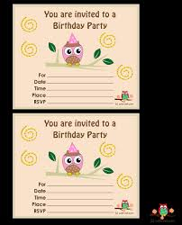 graphic design birthday invitations owl birthday invitations birthday party invitations