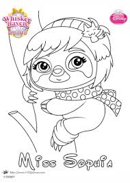 whisker haven sophia coloring free printable coloring