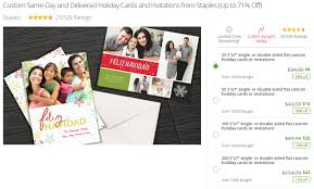 groupon staples custom cards promotion get up to 71