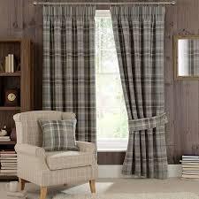 Black And Grey Curtains Grey Tartan Curtains Search Fabric Pinterest Tartan