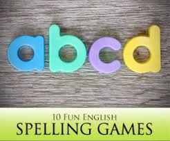 10 fun spelling games for your esl class