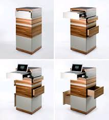 Compact Computer Cabinet Innovative Corner Computer Workstation Desk Perfect Office