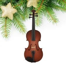 musical brown christmas tree miniature brown violin christmas tree decoration miniature musical