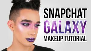 snapchat galaxy filter makeup tutorial jcharlesbeauty youtube