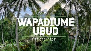 enjoying landscape beauty trough the camera at wapa di ume resort