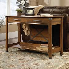 Sofa Computer Table by Sauder Carson Forge Collection Sofa Table
