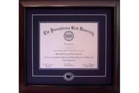 diploma framing penn state diploma frames frame shop