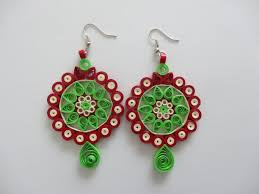 paper ear rings all handmade paper quilled earrings quilling accessories