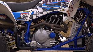 teixeira racing honda 400ex or 400x cross country racer project