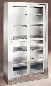 medical supply storage cabinets umf ss7816 large stainless steel storage supply cabinet w sliding