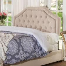 angelica adjustable king california king tufted fabric headboard