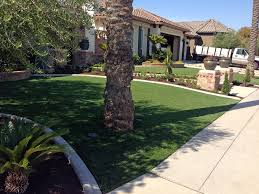 Lawn Free Backyard Fake Turf Turley Oklahoma Lawn And Landscape Front Yard