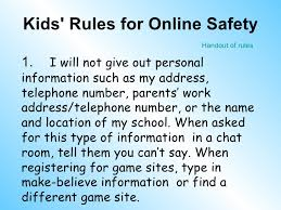 Online Chat Rooms For Kids by Internet Safety Elementary