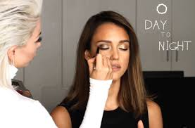 day to night makeup honest beauty u0027s jessica alba gets glammed by