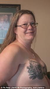 washington grandmother has bra tattoo after mastectomy daily
