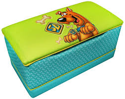 fun scooby doo bedroom furniture and decor for kids warner brothers scooby doo toy box