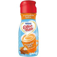nestle coffeemate pumpkin spice liquid coffee creamer 16 fl oz