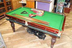 quarter size pool table a quarter size slate bed snooker table with label the cottage